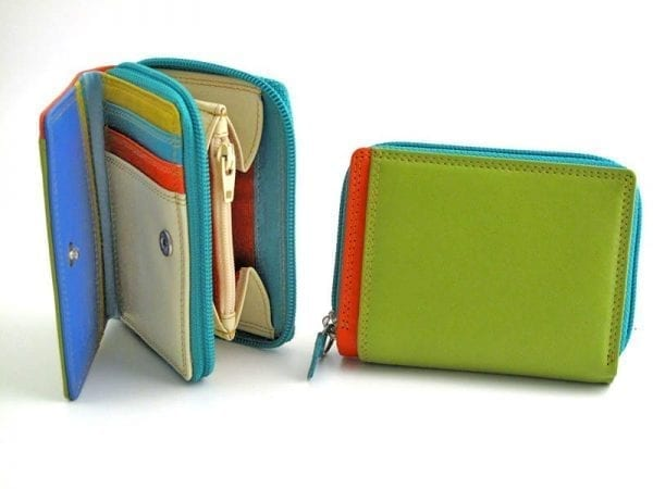 Multi-colour Small Zip Purse