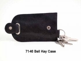 Cowhide Bell Key Case - 7146