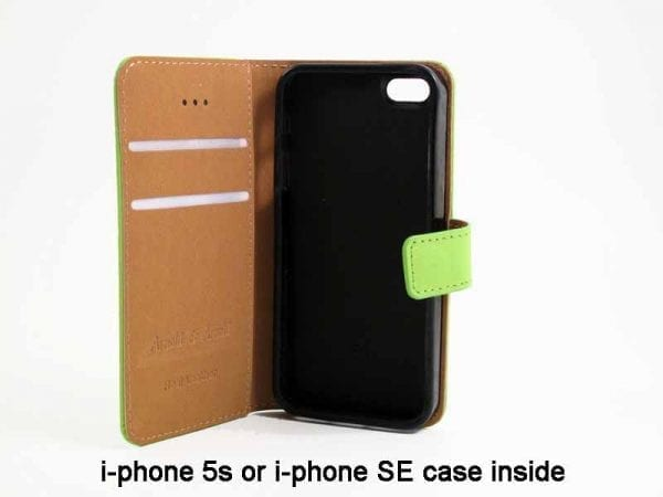 Real Leather Cover for i-phone 5s or i-phone SE