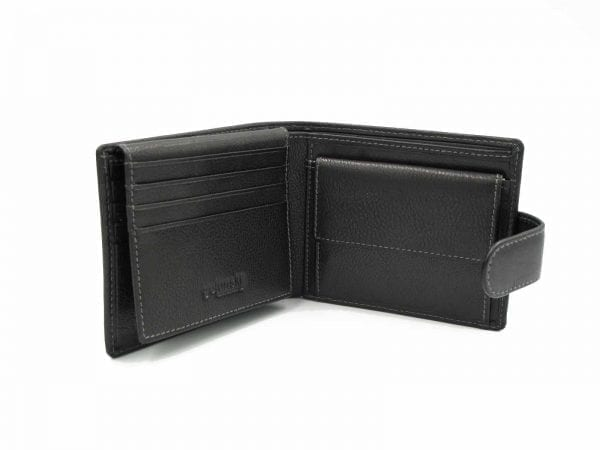 Real Leather RFID Coin Wallet